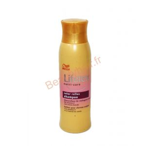 Wella Lifetex-nutri care - Shampooing reflets pour cheveux acajou